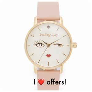NWT Kate Spade Metro Leading Lady Watch IN Box
